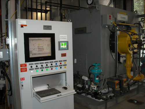 Industrial Steam Boiler Control Systems-Toronto, Canada